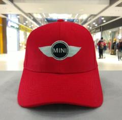 Бейсболка красная Мини Купер (Кепка MINI Cooper)