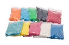 Большой набор цветного песка купить