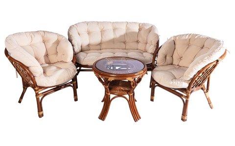Комплект мебели из ротанга Toscana
