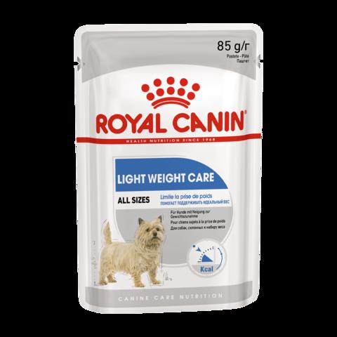 Royal Canin Light Weight Care Консервы для взрослых собак склонных к избыточному весу, Паштет