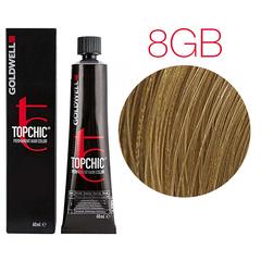 Goldwell Topchic 8GB (песочный светло-русый) - Cтойкая крем краска
