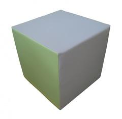 Куб деревянный, обшит ковролином, размер 400х400х400мм