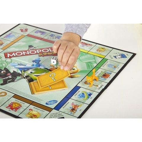 Hasbro: Игра настольная Монополия Джуниор A6984