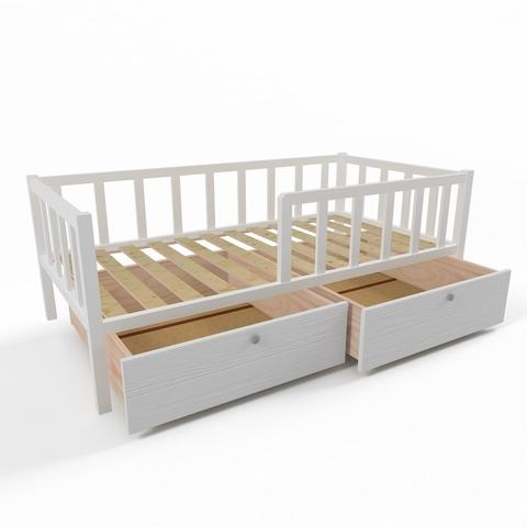Ящики (комплект 2 шт) для кровати Софа 180х90 фасад белый