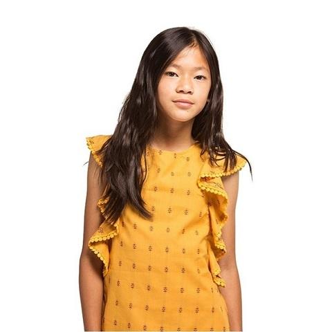 Платье Boboli детское горчичное