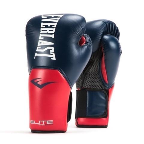 Перчатки боксерские Elite ProStyle, Everlast красно-синие