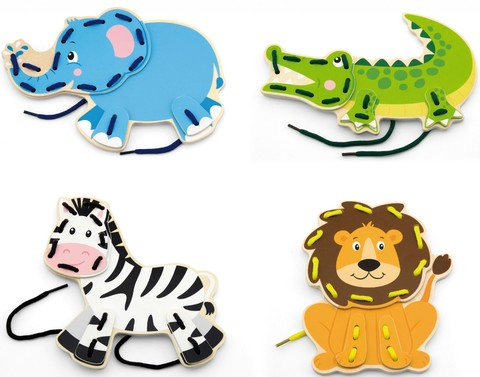 Шнуровка - Дикие животные