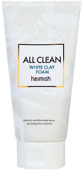 Heimish All Clean White Clay пенка для лица с белой глиной 150 г