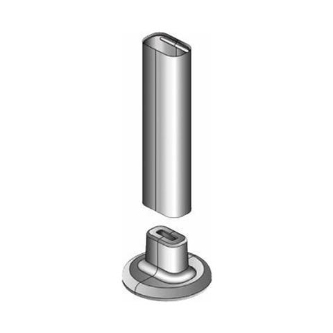 Накладка декоративная Buderus WE-825 BUD (комплект 2шт, для вертикальных кронштейнов WE-870 BUD)