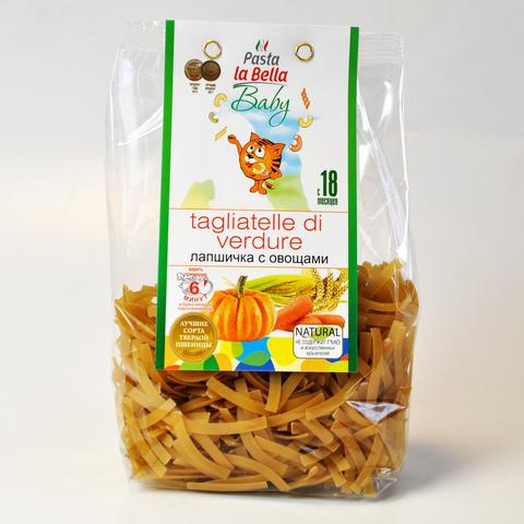 ЛАПШИЧКА С ОВОЩАМИ  Pasta la Bella BABY 250 г