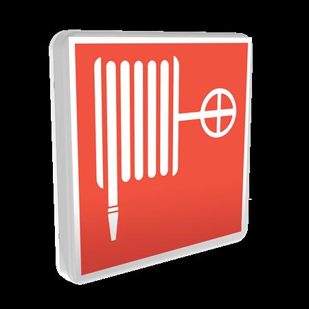 Световой указатель пожарного гидранта, пожарного крана, пожарной безопасности TOKEN IP65