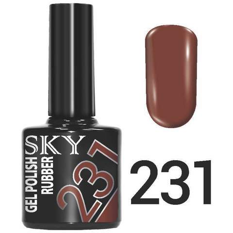 Sky Гель-лак трёхфазный тон №231 10мл