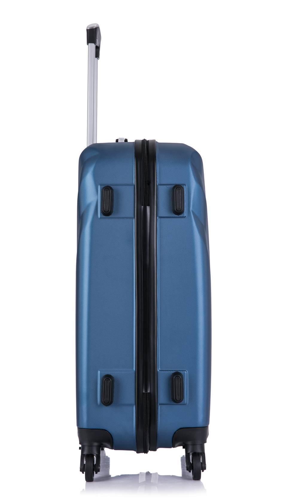 Чемодан со съемными колесами L'case Phuket-24 Темно-синий (M+)