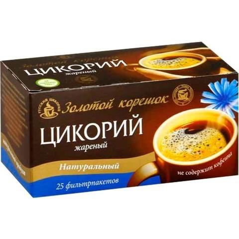 Цикорий молотый в фильтр-пакетах (25 шт.) Русский Цикорий, 50г