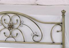 Кровать Элизабет 200x160 (Elizabeth) Античная медь