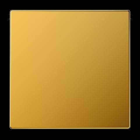 Выключатель одноклавишный. 10 A / 250 B ~. Цвет Золото. JUNG LS. 501U+LS990GGO