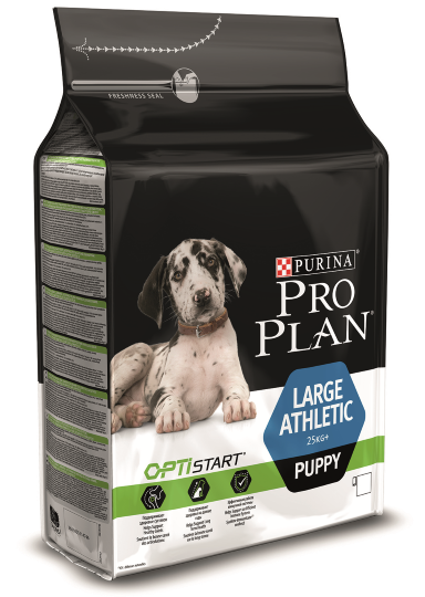 PRO PLAN Large Puppy Athletic, 3 кг_2