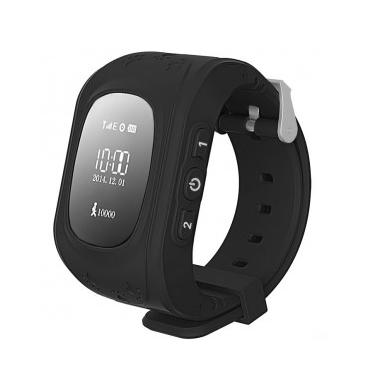 Чёрный цветовой вариант Smart Baby Watch Q50