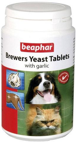 12664 Беафар Витамины д/собак и кошек с Пивными дрожжами и чесноком 250таб.