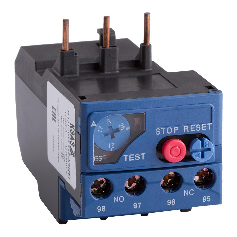 Реле РТЛ-1001-2 25А (0,1А-0,16А)