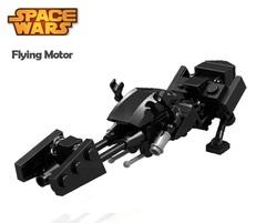 Minifigures Model Star Wars Speeder Bike