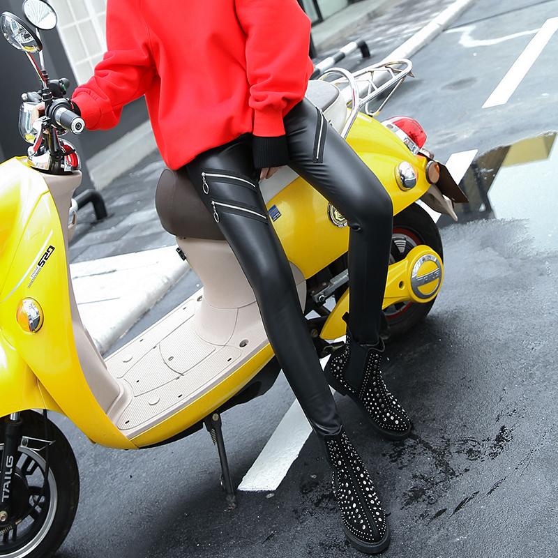Кожаные брюки «VIATRIS»