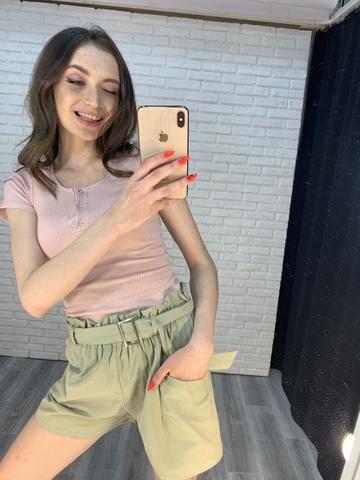 женские шорты зеленые недорого