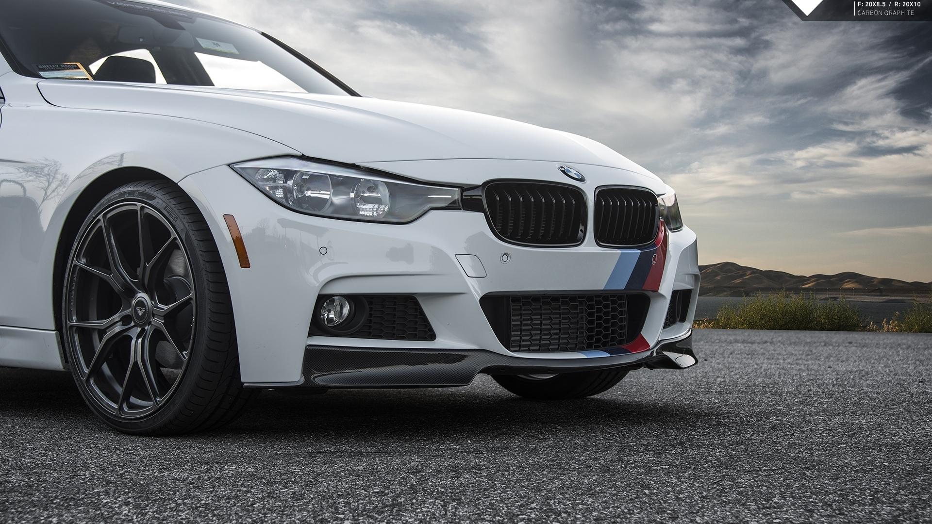 Карбоновый спойлер переднего бампера Performance Style для BMW 3er