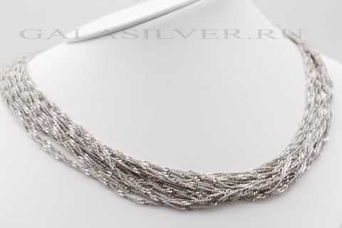 Колье из серебра 925