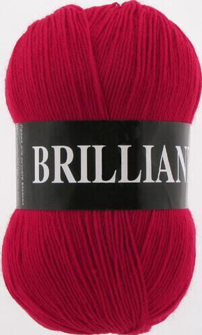 Пряжа Brilliant Vita 4968 красный фото