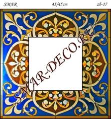 Эскиз для росписи, Зеркало 45/45см, SMAR-zb-17