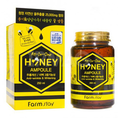 Farmstay All-In-One Honey Ampoule - Многофункциональная ампульная сыворотка с медом