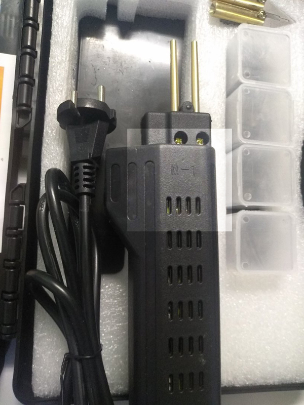 Малый набор HOT STEPLER для ремонта пластика, со скобами