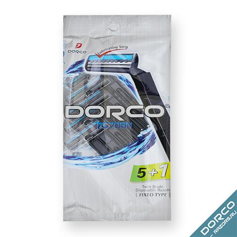 Dorco TG-708N Одноразовые станки для бритья 6шт. (5+1 в Подарок)