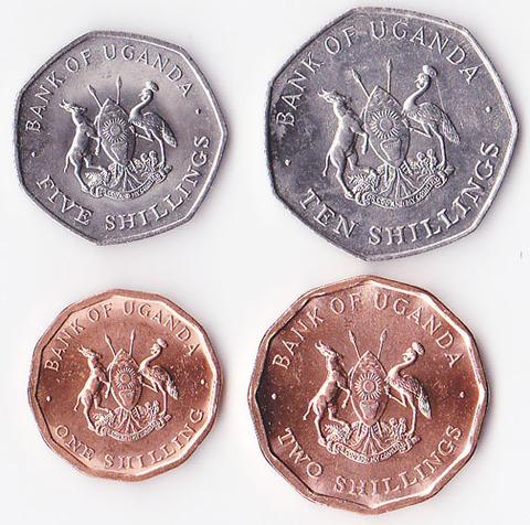 Уганда набор 1987