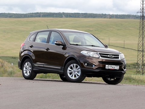 Чехлы на Chery Tiggo 5 2014–2020 г.в.