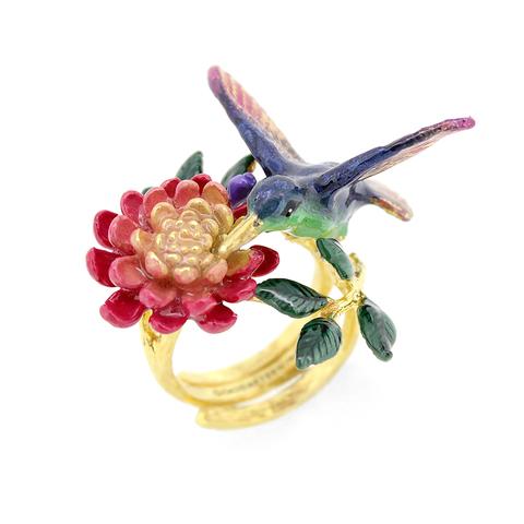 Кольцо Колибри