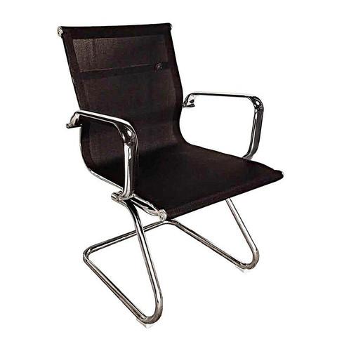 Кресло BN_DT_конференц Echair-711 VN сетка черная, хром