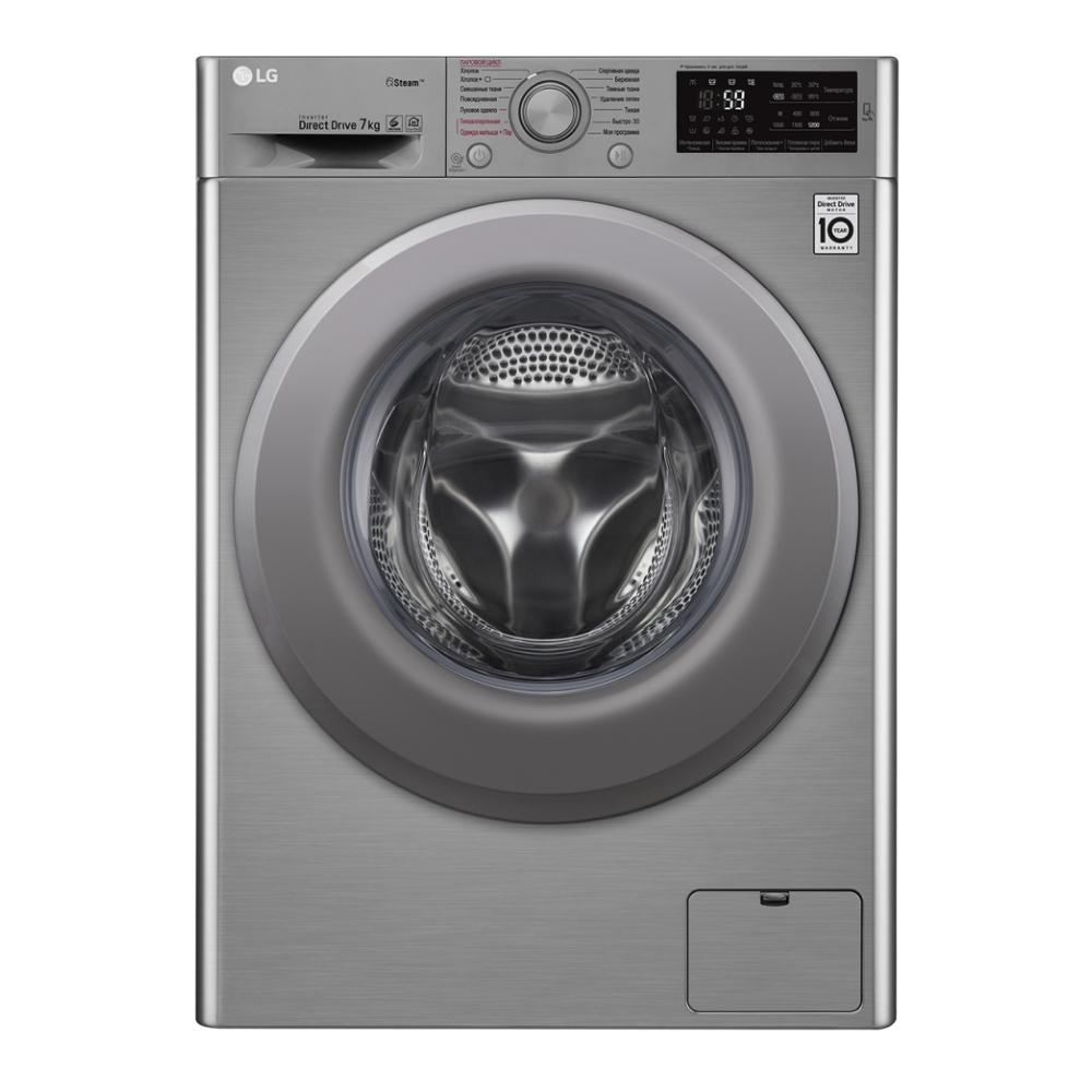 Фото - Стиральная машина LG F2M5HS7S стиральная машина lg f4v5tg0w
