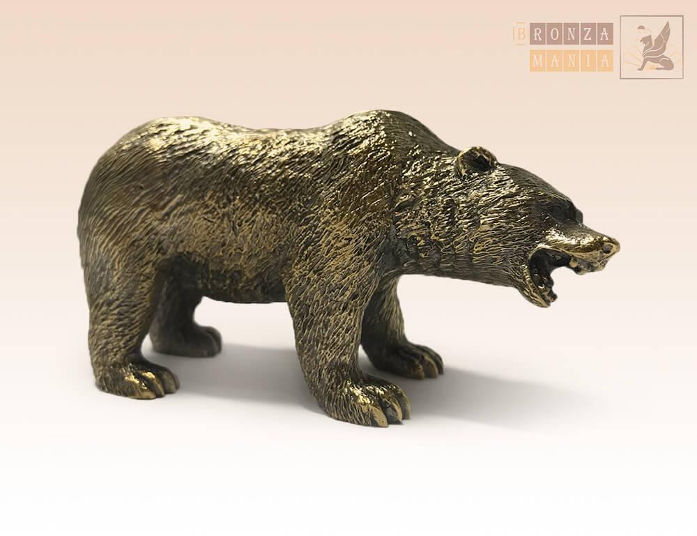 статуэтка Медведь бурый малый