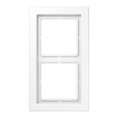 Рамка на 2 поста. Цвет Белый. JUNG LS - ДИЗАЙН. LSD982WW