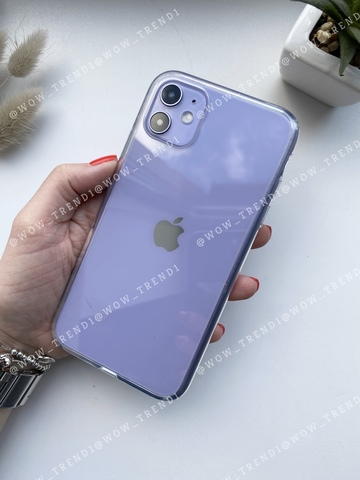 Чехол iPhone 11 Simple pure /transparent/ 445