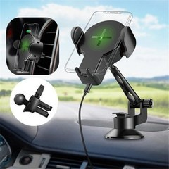 Автодержатель Rock W2 Pro Car Wireless Charging Stand