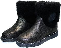 Модные зимние полусапожки Kluchini 13044 k289
