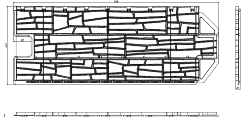 Фасадная панель Альта Профиль Каньон Невада 1160х450 м