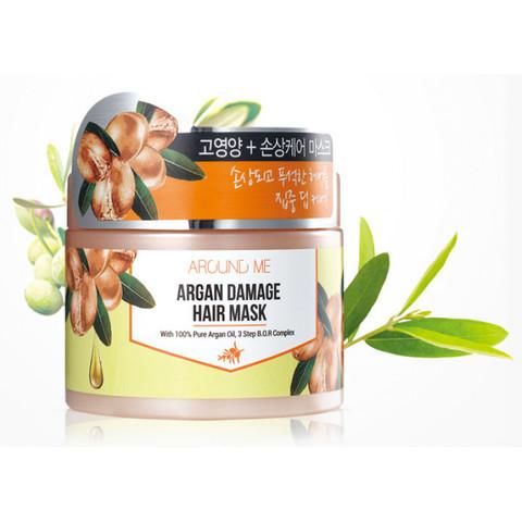 Маска для поврежденных волос Around me Argan Damage Hair Mask 300гр