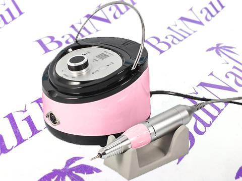 Аппарат для маникюра с педалью 35000 об./65 Вт (розовый) ZS-606