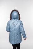 Куртка для беременных 05199 серо-зеленый
