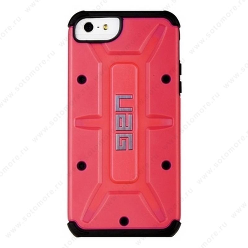 Накладка UAG для iPhone SE/ 5s/ 5C/ 5 красная