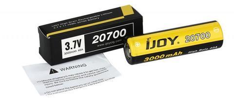 Аккумулятор 20700 iJoy 3000mAh, 40A
